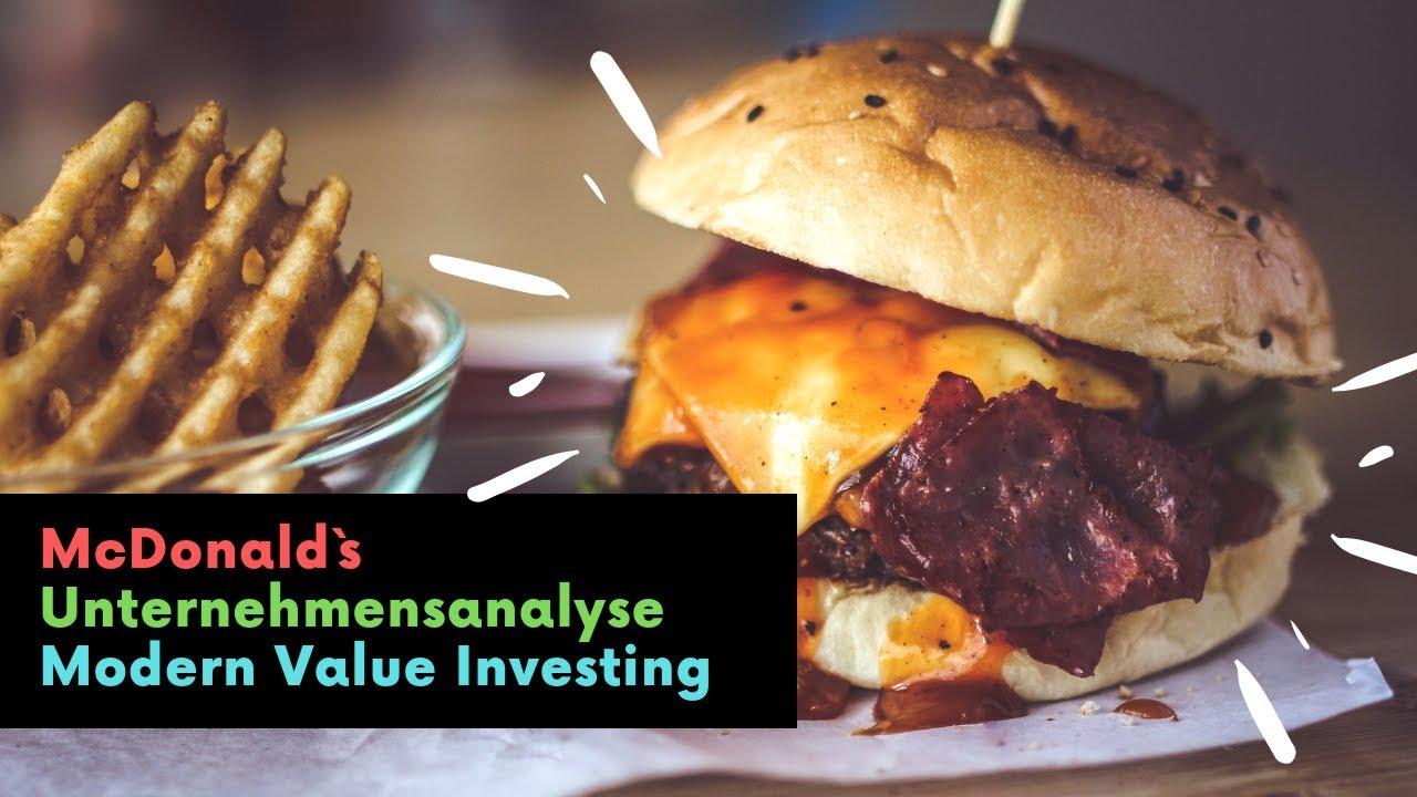 McDonalds - Unternehmensanalyse